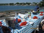 Lobster Bake in Maine