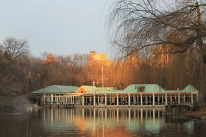 New York City Boathouse in Autumn